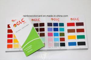 High Quality Customized Paint Color Card for Chemical pictures & photos