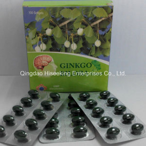 GMP Certificate Ginkgo Biloba Extract Softgel OEM pictures & photos