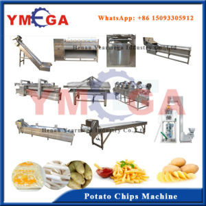 Henan Yearmega Supply Automatic Frozen and Fry Potato Chips Making Machine pictures & photos
