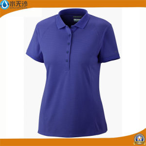 Custom Women Cotton T-Shirts Fashion Summer Polo T-Shirts pictures & photos