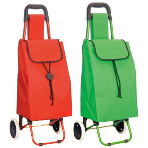 Large Folding Lightweight 2 Wheeled Shopping Trolley pictures & photos
