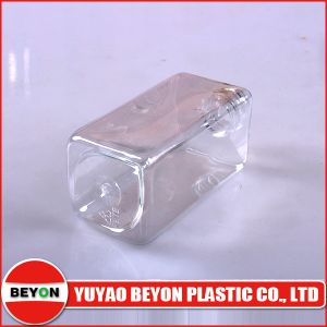 120ml Square Shaped Plastic Pet Bottle (ZY01-C010) pictures & photos