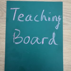 0.4mm Thickness Green White Teaching Writing Board pictures & photos