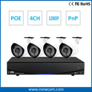 4CH CCTV Surveillance Poe NVR Kits with Waterproof IR IP Camera pictures & photos