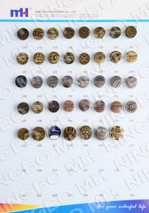 China Supplier of Iron Jeans Button pictures & photos