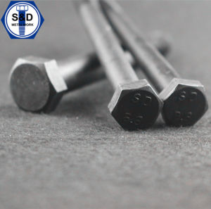 Hex Bolts High Strength DIN931 Half Thraed Bolts Gr. 8.8 Black pictures & photos
