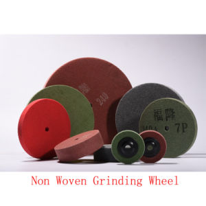 "6""X2"" 8p PU Polishing Pad Roll Grinding Wheel Abrasive Non Woven Polishing pictures & photos"