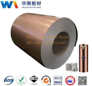 PCM Color Coated Steel Sheet for Refrigerator Door pictures & photos