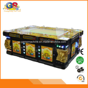 China Coin Operated Fish Game Table Gambling Arcade Game