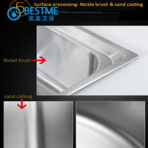 kitchen furniture 304 Stainless Steel Sink pictures & photos