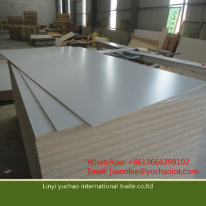 Melamine Paper Faced Particle Board for Decoration or Furniture pictures & photos