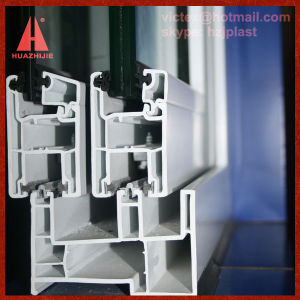 PVC Sliding Window Frame pictures & photos
