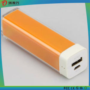 Hotsell ABS Plastic Lipstick Colorful Power Bank Charger pictures & photos