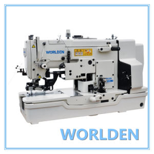 Wd-783nv High Speed Straight Button Holing Sewing Machine pictures & photos