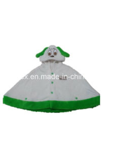 100% Polyester Fashion Poncho Clothing for Kids pictures & photos
