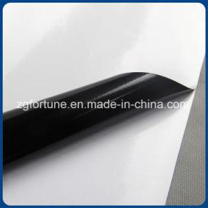 Black Glue Glossy Self Adhesive Vinyl Vinyl pictures & photos