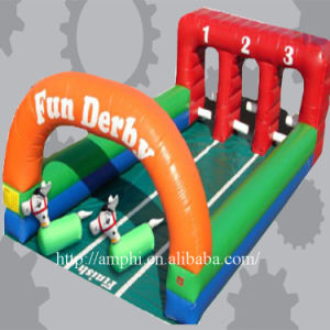New Finished Inflatable Race Game Inflatable Derby Horse Racing pictures & photos