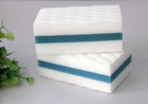 Household Cleaning Melamine Sponge Eraser pictures & photos