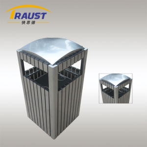 High Quality Aluminum Garbage Bin Sale Price for Public Use pictures & photos