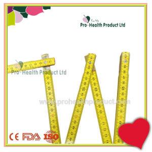 200cm 10 Folds Promotional Custom Wooden Rivet Folding Ruler pictures & photos