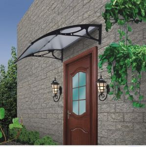 Modern Design Polycarbonate Door Canopy with Online Shopping Package (YY-N-H) pictures & photos