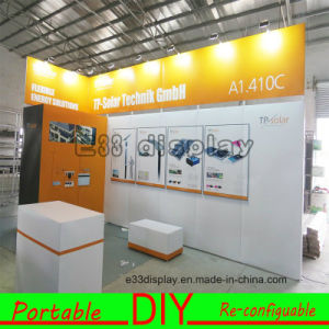 Custom Design Modular Reusable DIY Trade Show Stand with LED Lights pictures & photos