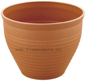 Round Plastic Flower Pot (KD9452-KD9454) pictures & photos