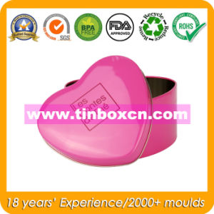 Heart-Shaped Candy Tin for Wedding, Gift Tin Box pictures & photos
