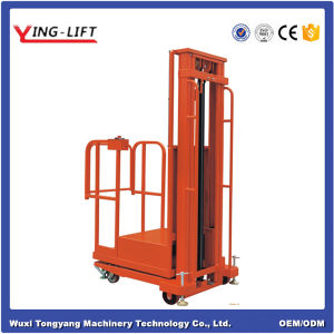 Semi-Electric Aerial Order Picker for Warehouse Use pictures & photos