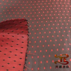 68d*120d Jacquard Polyester Viscose Fabric for Garment Fabric pictures & photos