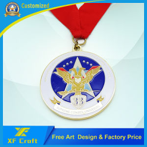 China Manufacturer Custom Metal Souvenir Medal Sports Medallion (XF-MD02) pictures & photos