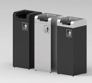 European Style Outdoor Waste Bin From Shining Factory (HW-504) pictures & photos