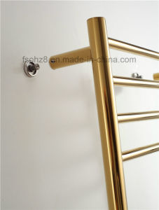 Golden Luxury Stainless Electric Radiator Heated Towel Warmer (9006G) pictures & photos