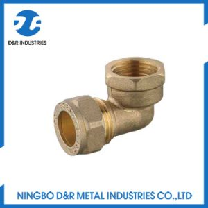 Dr 7042 Brass Cpmpression Fitting for PE Pipe pictures & photos