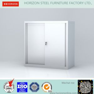 Steel Low Storage Office Furniture with Two Swinging Doors/Filing Cabinet for Italy Market pictures & photos