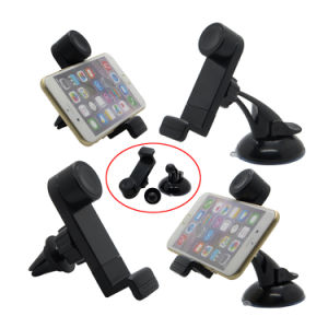 Sucker Air Vent Magnetic 3 in 1 Car Holder for Samrt Cell Mobile Phone iPhone 6s 7 Plus Samsung Note 5 S7 Edge pictures & photos