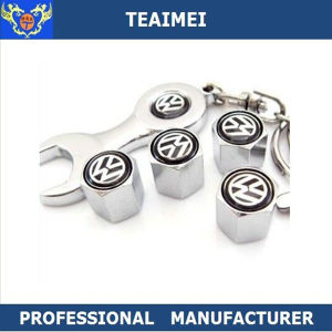 Auto Logo Alloy Wheel Spanner Metal Tire Valve Stem Caps pictures & photos