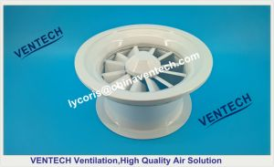 Iron Ventitlation Diffuser Swirl Air Ceiling Diffuser pictures & photos