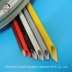 Factory Price Silicon Rubber Insulating Sleeve Glass Fiber Insulating Tube pictures & photos