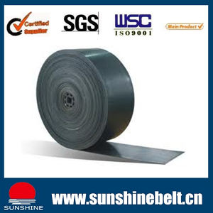 Sand Cement Fabric Ep Steel Cord Black Rubber Conveyor Belt pictures & photos