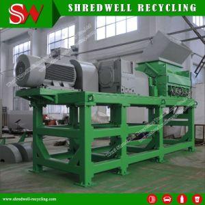 Scrap Tire Shredding Rasper Producing Wire-Free 10-20mm Rubber Mulch pictures & photos