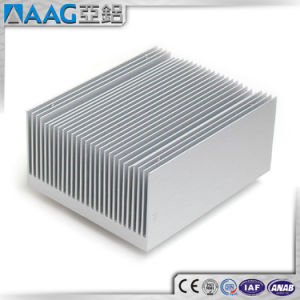 OEM Square Extruded Aluminum Pin Fin Heat Sink pictures & photos