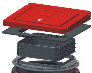 SMC Watertight Manhole Cover for Petrol Station BS En124 pictures & photos