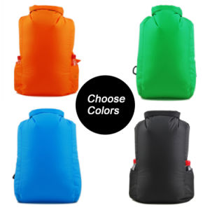 New Design Nylon Lightweight Water Proof Dry Bag Backpack pictures & photos