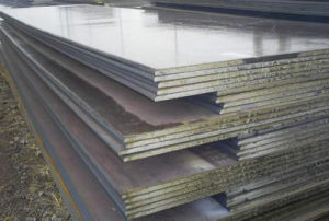 Hot Rolled Mill Edge Steel Plate pictures & photos
