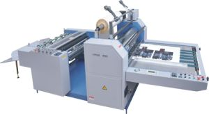 Newest Large Hot and Cold Roll Laminating Machine (SFML-1100B) pictures & photos