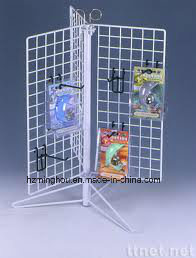 Metal Wire Floor Multifunction Display Stand Factory for Supermarket pictures & photos
