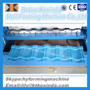 1080 Kexinda Produce Roof Tile Forming Machine pictures & photos
