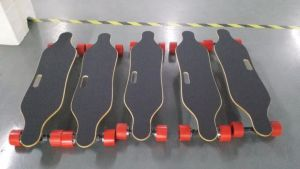 Factory Supplied 450wx2 High Speed Electric Skateboard with Wireless Remote pictures & photos