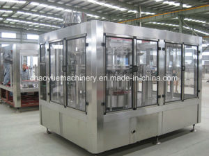 3-in-1 Unit Carbonated Beverage Can Filling Machine pictures & photos